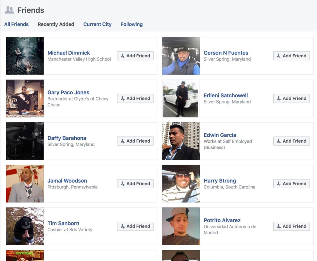 how to create fake facebook account